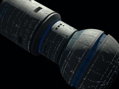 Earth Spacedock WIP #4